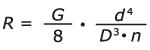 La constante d'un ressort de compression