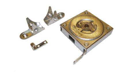 Dessin technique - Ressort à force constante dans boîtier métallique