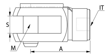 Dessin technique - Chape de tringlerie