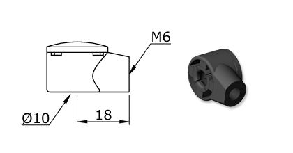 Technical drawing - Endfitting - Ballsocket